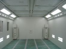 Airblast paint rooms