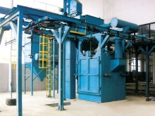 mono-rail-shot-blasting-machine